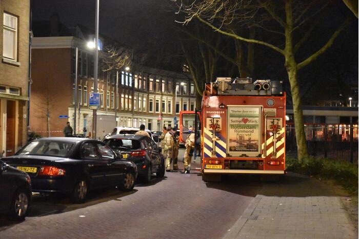 Brandweer ingezet voor gaslekkage