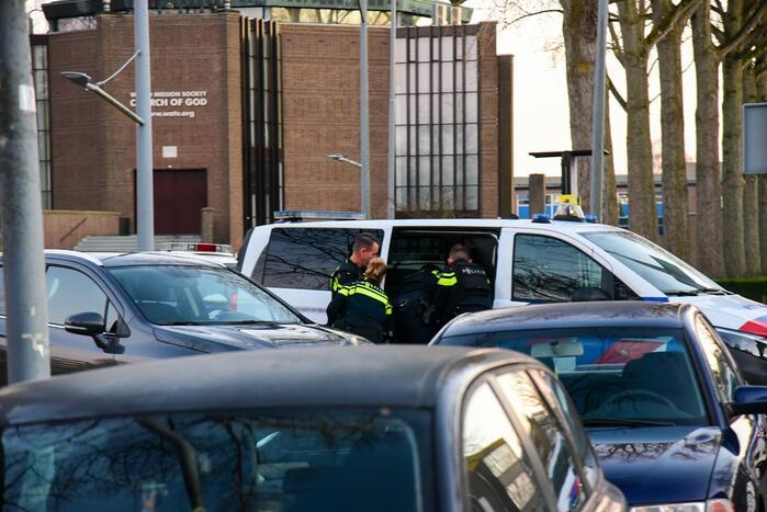 Een persoon aangehouden na schietpartij