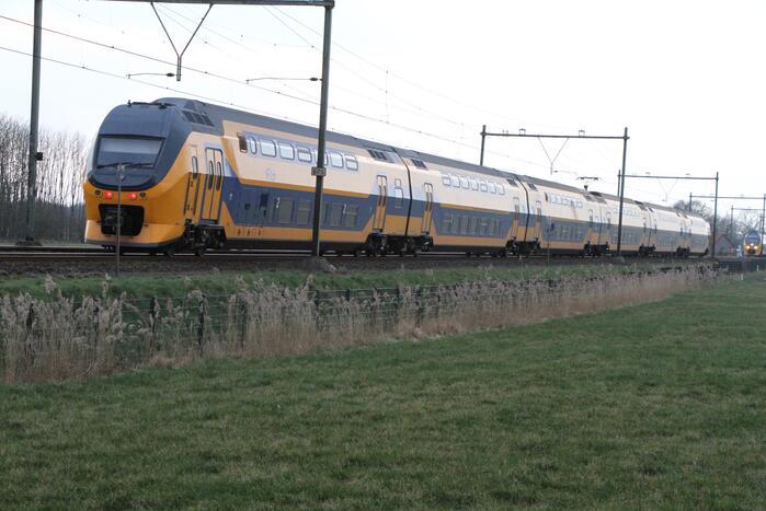 Treinverkeer gestremd door spoorongeval
