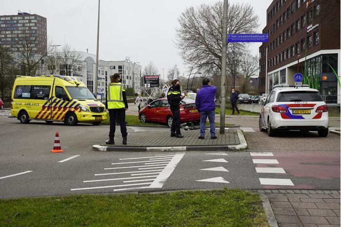 Ernstig ongeval met auto en fietser
