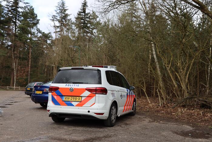 Zoekactie naar vermiste man in bosgebied Zonnegloren