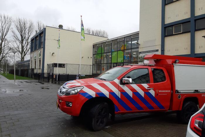 School LMC praktijkonderwijs ontruimd door brand