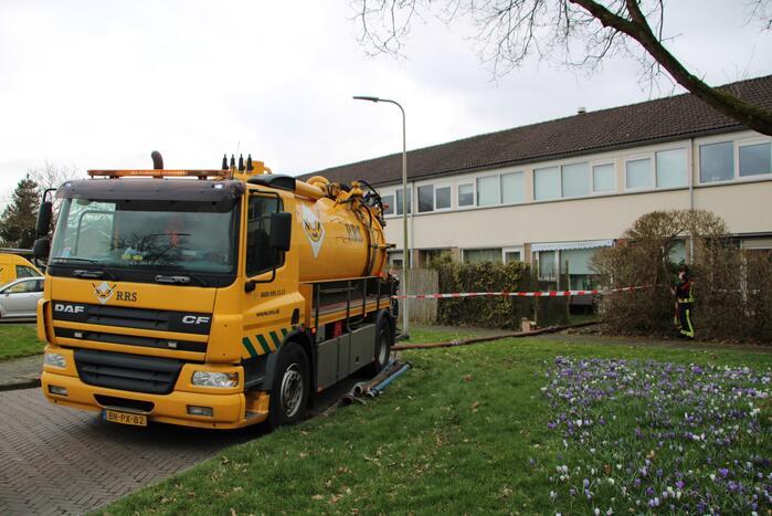 Gevaarlijke gassen komen vrij uit riolering