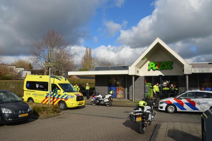 Man aangehouden bij incident Poiesz-supermarkt