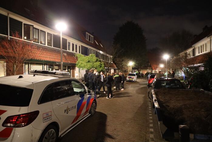 Dronken persoon valt mensen lastig, politiehelikopter ingezet