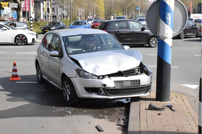 Flinke schade bij verkeersongeval