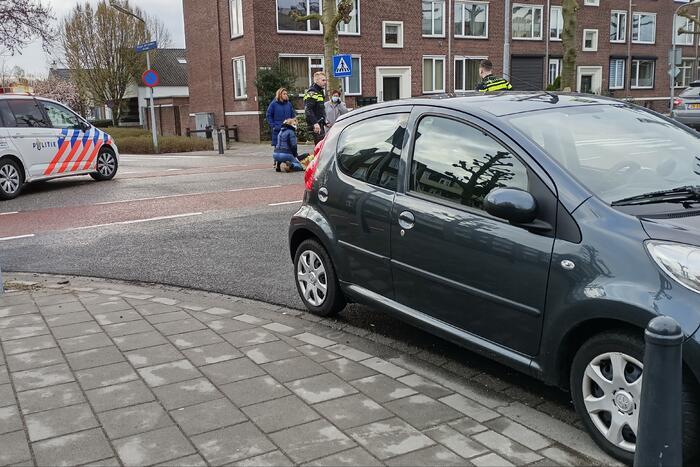 Kind aangereden door auto