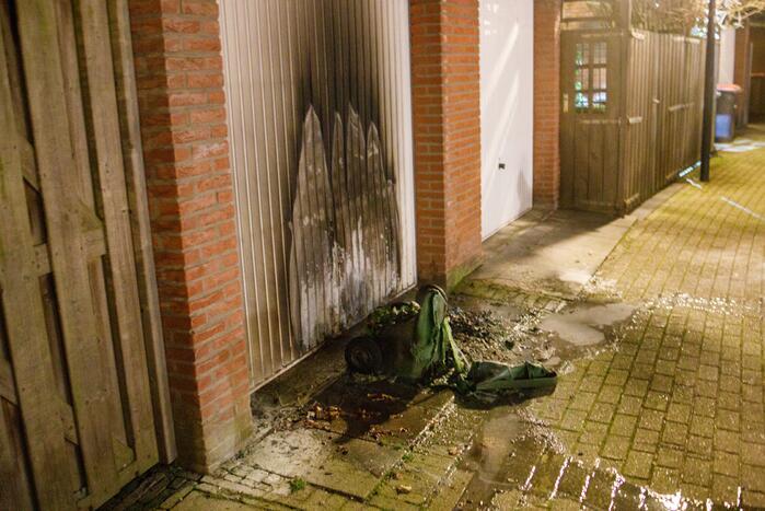Brandstichters Nieuwland aangehouden