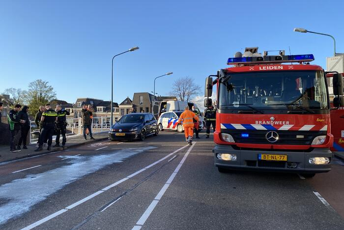 Verkeersongeval tussen meerdere voertuigen