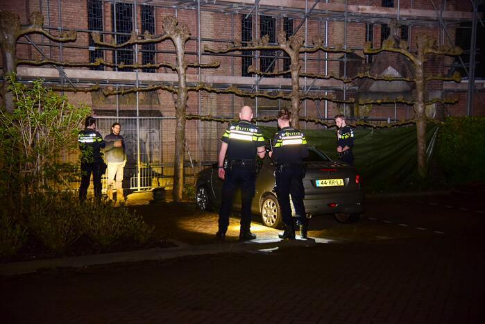 Veel politie na vermoedelijke poging tot inbraak