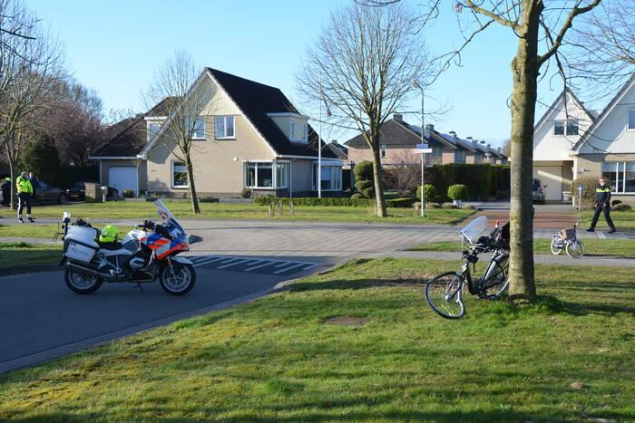 Twee gewonden bij ongeluk met fiets