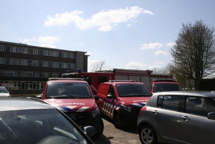 Brand in spouwmuur Ziekenhuis Rivierenland