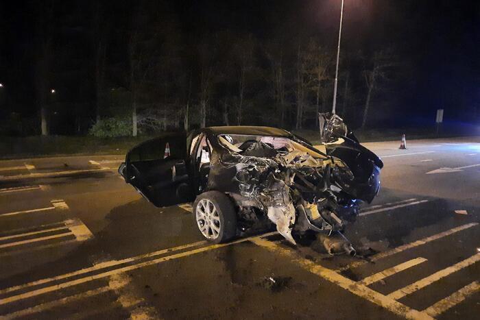 Meerdere voertuigen betrokken bij ongeval