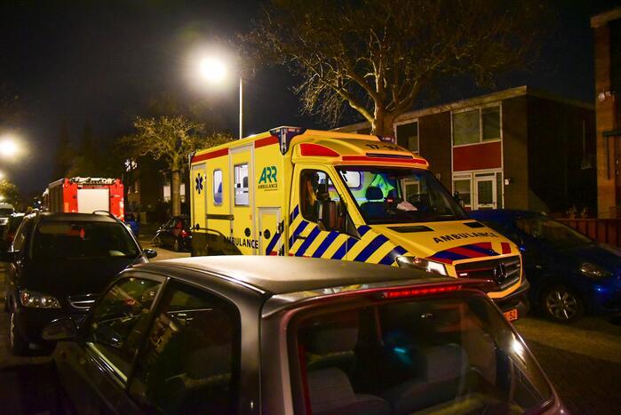 Man gewond na mogelijke explosie spuitbus