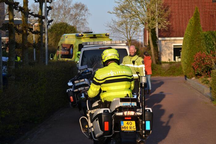 Gewonde na ongeval tussen e-bike en auto