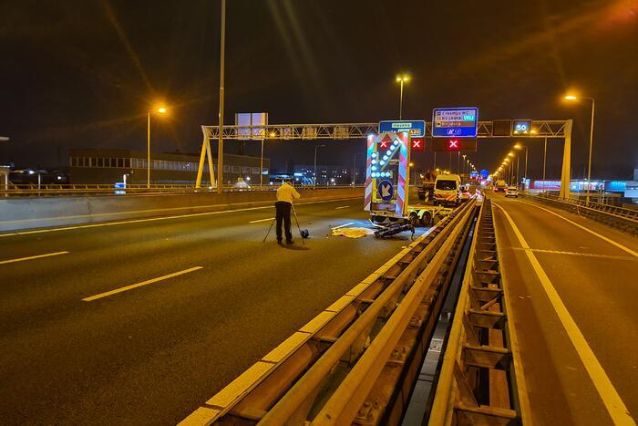 Motorrijder overleden na ernstig ongeval