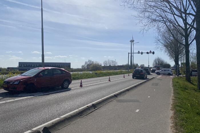 Ongeval tussen twee voertuigen