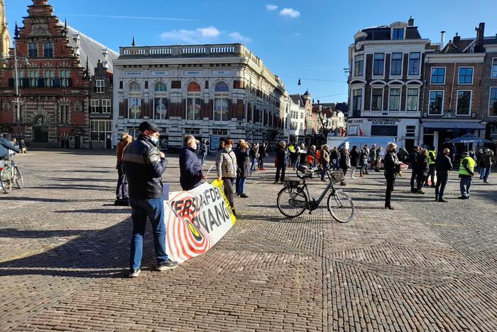 Demonstratie tegen verslaafdenopvang