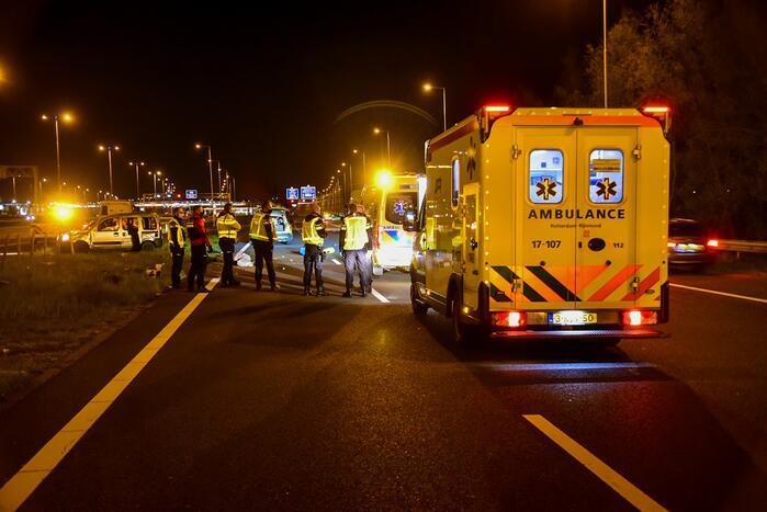 Twee gewonden achtergelaten na ernstig ongeval