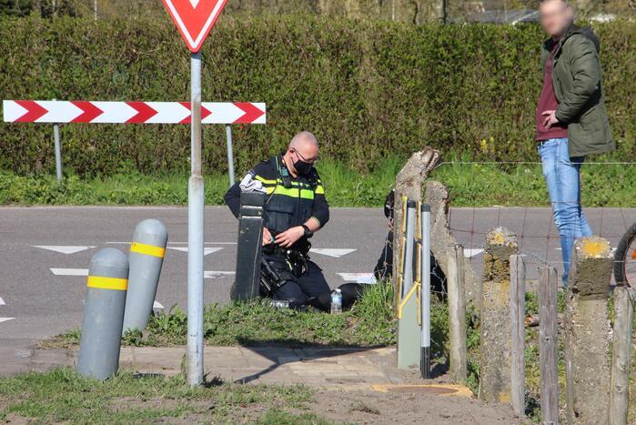 Mountainbiker aangereden op oversteekplaats