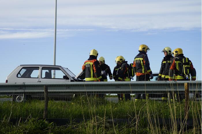 Brandweer doet onderzoek naar kapotte motor
