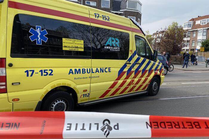 Zwaargewonde bij ongeval op tramspoor