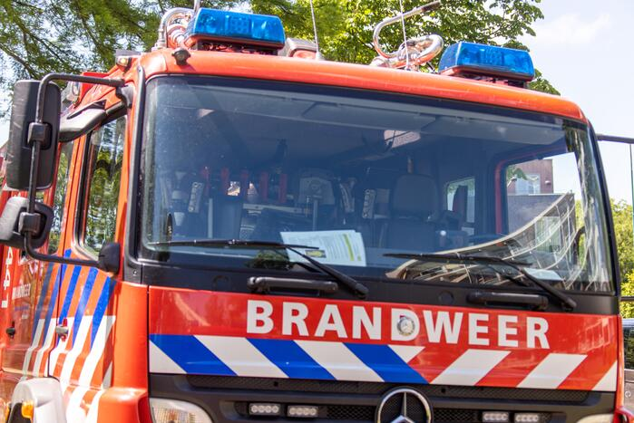 Forse schade na brand in hoekwoning