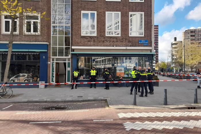Grote politie-inzet na aantreffen mogelijk explosief