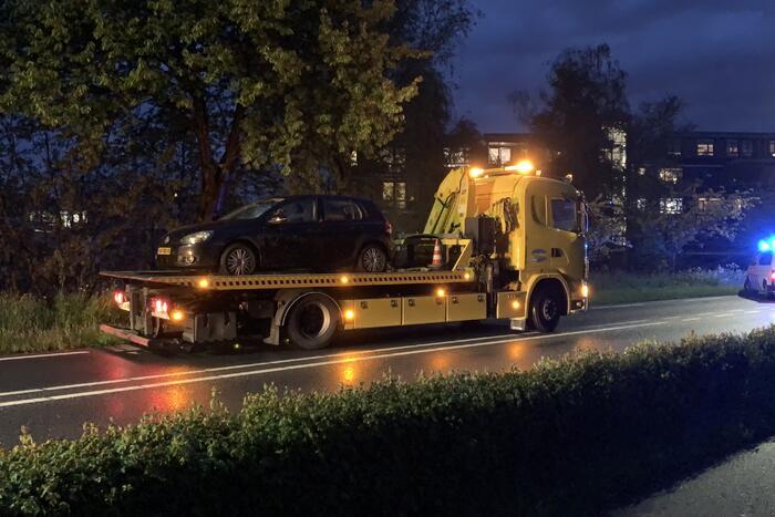 Personenauto total-loss door ongeval