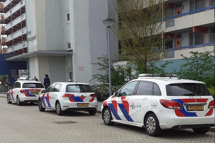 Persoon ernstig gewond bij incident in flat