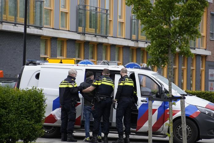 Politie houdt verdachte van bedreiging aan