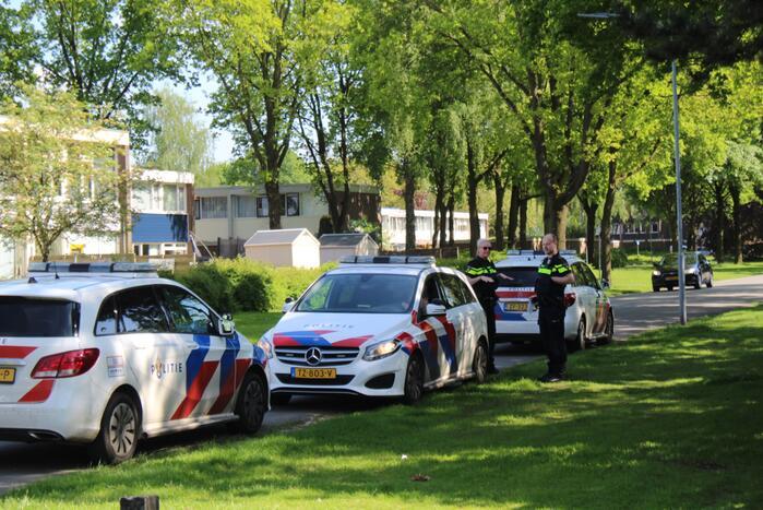 Grote politie-inzet voor aanhouding verward persoon