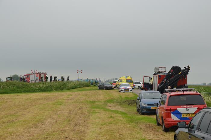 Twee doden bij ongeval tussen trein en personenauto