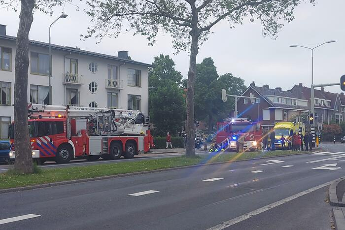 Brand in woning snel geblust