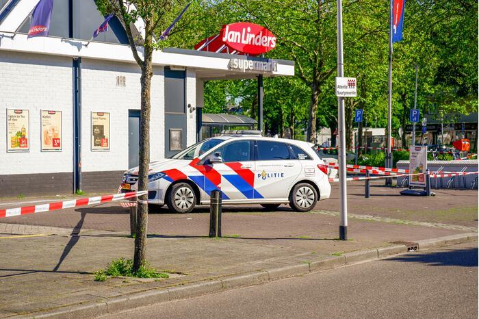 Plofkraak geldautomaat, EOD doet onderzoek naar achtergebleven explosieven
