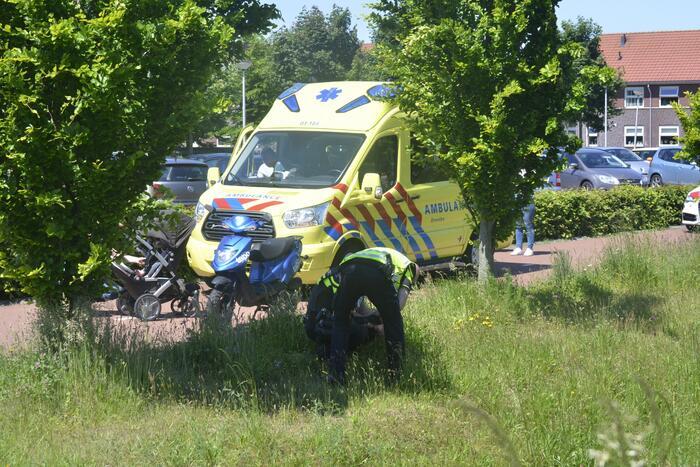 Twee jongemannen aangehouden na ongeval