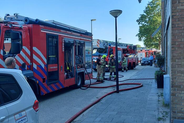 Brand in afzuigkap van flatwoning
