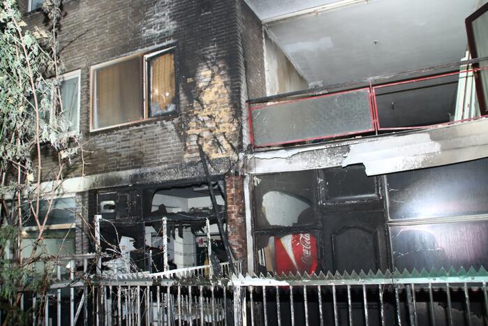 Felle brand zorgt voor grote schade