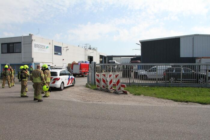 Incident in chemische fabriek Bredox