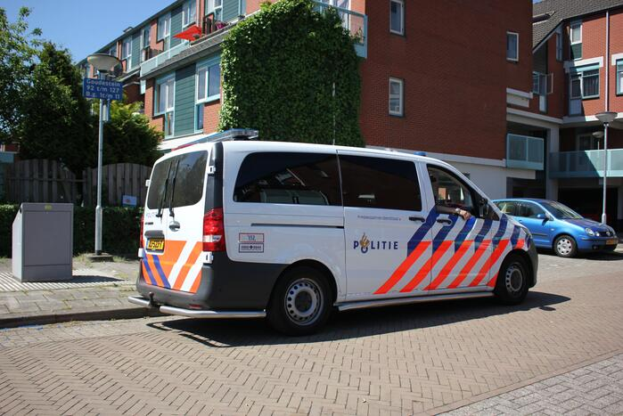 Grote politie-inzet voor incident