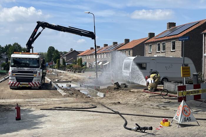 Meerdere woningen ontruimd na flinke gaslek