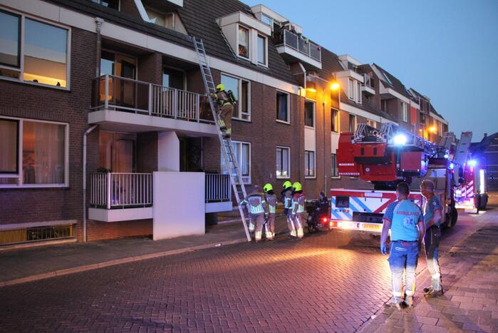 Pan op het vuur zorgt voor inzet brandweer