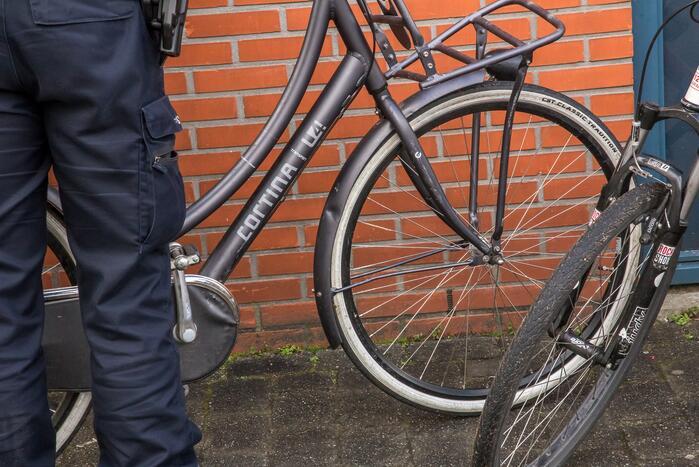 Meerdere fietsen gestolen in het centrum