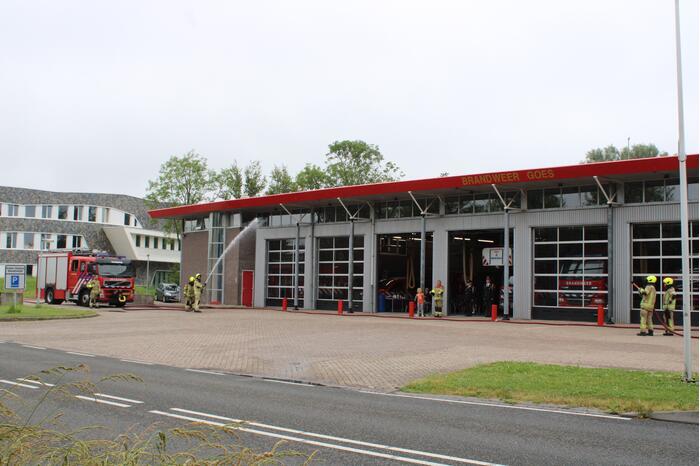 Brandweer herdenkt omgekomen brandweercollega's