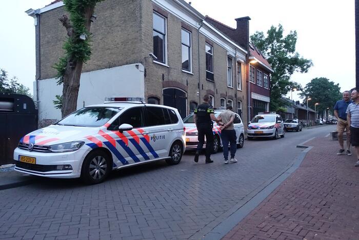 Aanhoudingen door politie in kogelwerende vesten