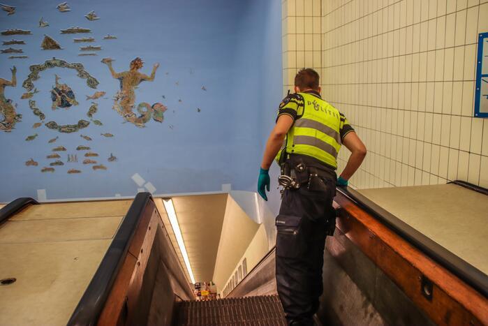 Persoon zwaargewond na incident in Maastunnel
