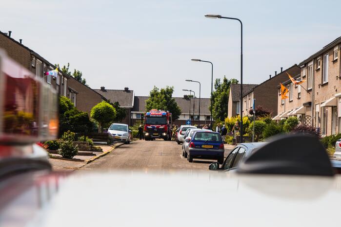 Straat in Limbrichterveld afgesloten vanwege gaslekkage