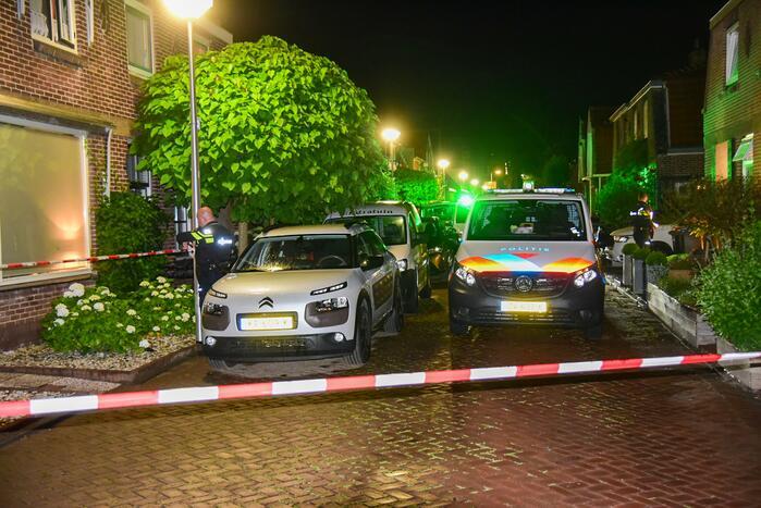 Man in woning neergeschoten