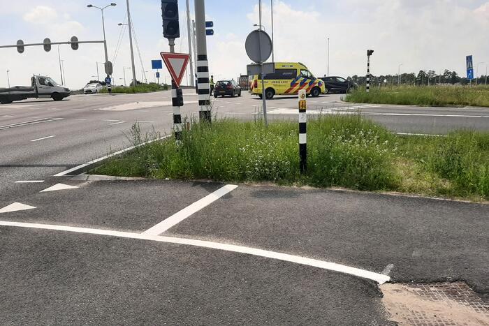 Opnieuw verkeersongeval op vernieuwde toerit