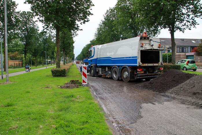 Werkzaamheden gestart aan busbanen in Filmwijk
